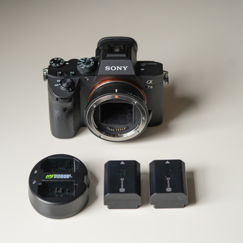 Rent Sony a7 III with Canon EF adapter (with AF)