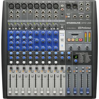 Rent PreSonus StudioLive AR12 USB 14-Channel Mixer
