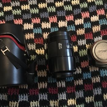 Rent Minolta 100mm f/2.8 Macro Lens w/A to E Mount Adapter