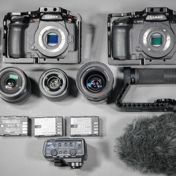 Rent Film Makers Kit - GH5 + GH5S + Audio Equipment