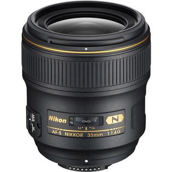 Rent Nikon AF-S NIKKOR 35mm f/1.4G Lens