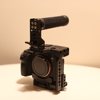 Rent Sony A7Sii Camera + Top Handle Cage + Extras