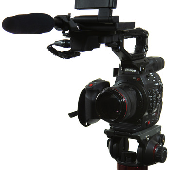 Rent Kit: Canon C300mkii w/ Tripod, Lenses, Audio, & Media/Batts