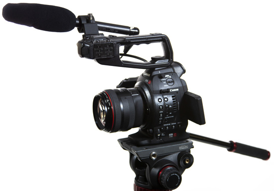 Canon c100i package   full 1
