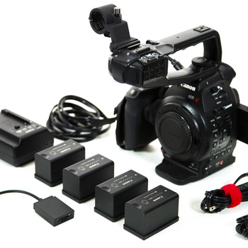 Rent Canon C100 EF Kit