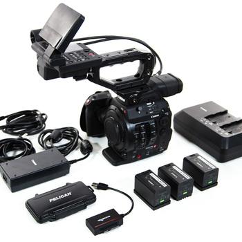 Rent Canon C300mkii Cinema Camera EF (A)