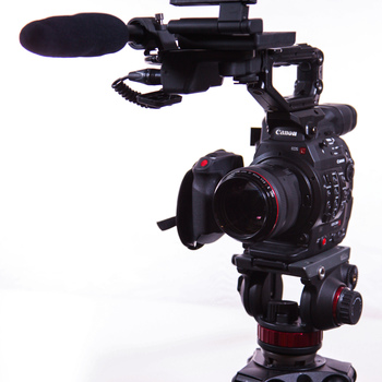 Rent Canon C300 Mark II Cinema Camera (EF-Mount) with Batteries, Media, and Accessories