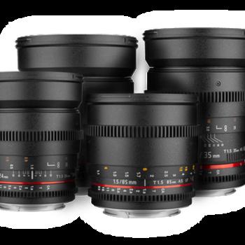 Rent Rokinon Cine DS 4 Lens Kit EF
