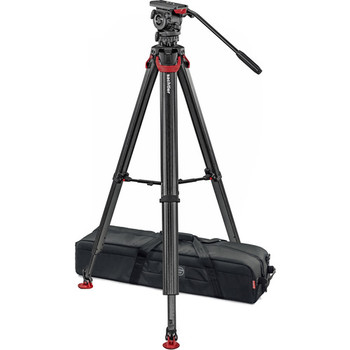 Rent Sachtler System FSB 8 Fluid Head with Flowtech 75 Carbon Fiber Tripod