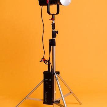 Rent Aputure 300D Daylight LED light / fresnel + Mini Light Dome II