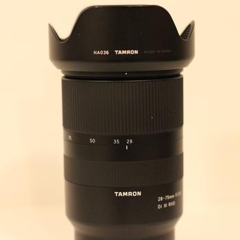 Rent Tamron E-Mount 28-75mm F/2.8 lens
