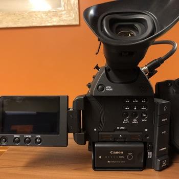 Rent Canon C100 Mkii