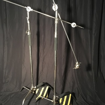 Rent C-Stands (2) and Sandbags (2)