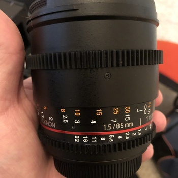 Rent Rokinon Cine DS Lens Set of 20mm, 35mm, and 85mm