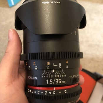 Rent 35mm T1.5 Cine DS