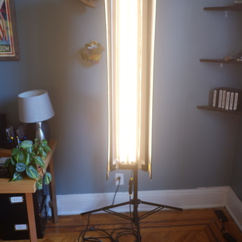 Rent Kino Quasar fixture 4ft 2 bank with Dimmer & hard roll case