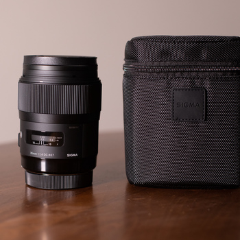 Rent Sigma 35mm f/1.4 DG HSM Art for Canon EF
