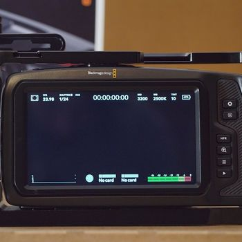 Rent Blackmagic Pocket Cinema 4K with Metabones XL, CFast, and External Power
