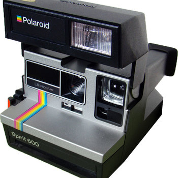 Rent Vintage Polaroid 600 camera