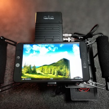 Rent SmallHD 702 Bright and Teradek +Wooden Camera Cage