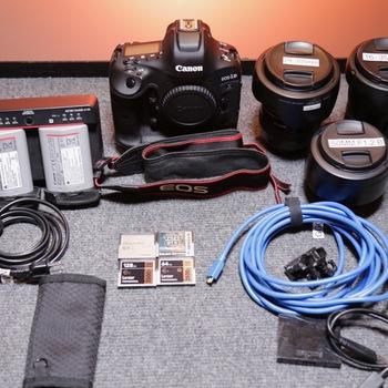 Rent Canon EOS-1D X Mark II Kit