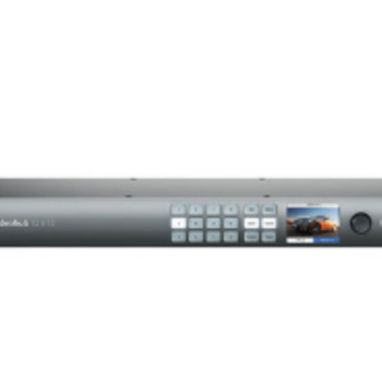 Rent Blackmagic Design Smart Videohub CleanSwitch 12 x 12 6G-SDI