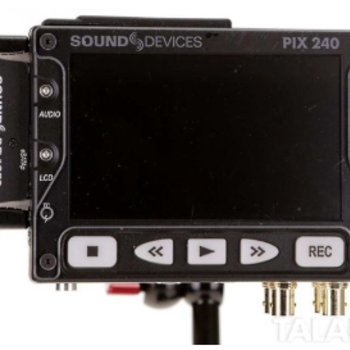 Rent Sound Devices Pix-240 Video & Audio Recorder Kit
