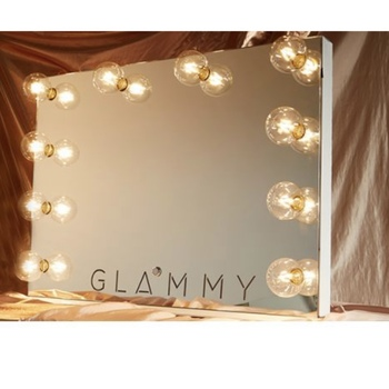 Rent Hollywood Style Landscape mirror with lights vanity