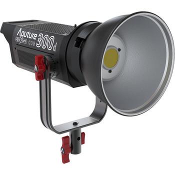 Rent Aputure LS C300d Daylight LED Fixture w/ Fresnel Lens + Barndoors + Dimmer Bracket