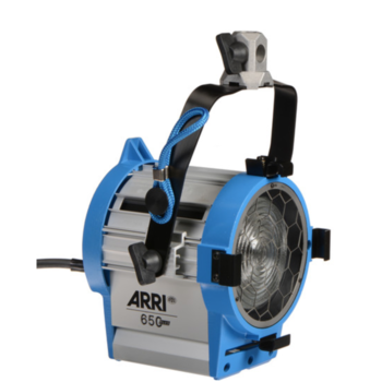 Rent Arri Fresnel lights 650, 300, or 150W
