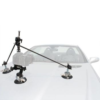 "Rent 4.5"" SUCTION CUP CAMERA MOUNT W/ TRIANGULATION KIT BUNDLE"