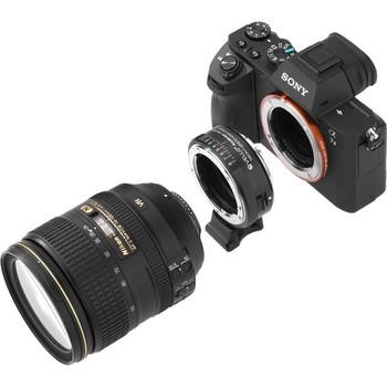 Rent Vello Nikon F Lens to Sony E Accelerator Lens Adaptor
