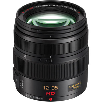 Rent Workhorse lens for GH5, 12-35mm f2.8 OIS