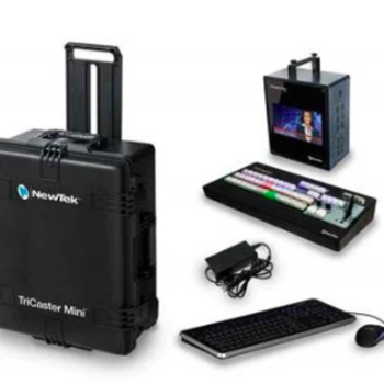 Rent TriCaster Mini HD-4 Live Production switcher KIT with optional control surface