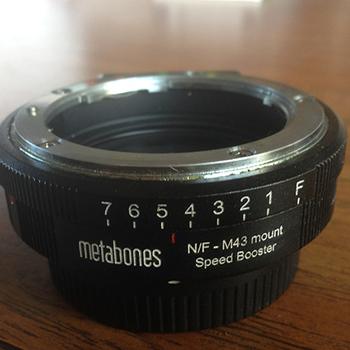 Rent Metabones Speed Booster Nikon to MFT