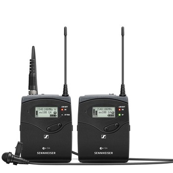 Rent Sennheiser  G4 Camera-Mount Wireless Microphone System - 8 Batteries