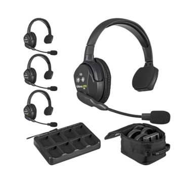 "Rent ""Clear-Com"" UltraLITE 4-Person Headset System"
