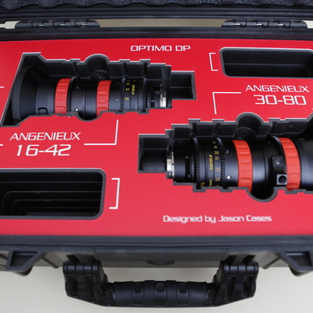 Rent Angenieux DP optimo set with custom case 16-42 & 30-80mm f2.8