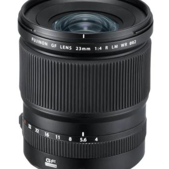 Rent Fuji GF 23mm Medium Format Lens (18mm Equivalent) for GFX Camera