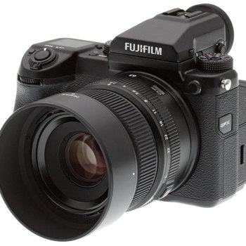 Rent Fuji GFX 50S Medium Format Digital Mirrorless Camera + 63mm (50mm Equivalent) Lens