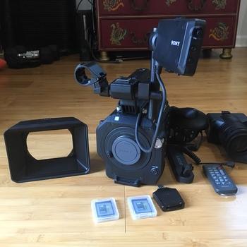 Rent Full Sony Fs7 Package with 20-110mm Zoom, Lens Mount, Multiple Lenses