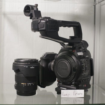 Rent Canon C100 DPAF with Sigma 17-50mm - THE Crispiest 1080p You'll Ever Shoot With