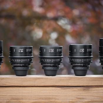 Rent Sigma Cine Primes Full-Frame T1.5 (5-lens set)