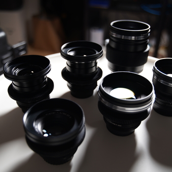 Rent Zeiss Zf.2 6 Lens Prime Kit 18mm-135mm Duclos Cine Mod