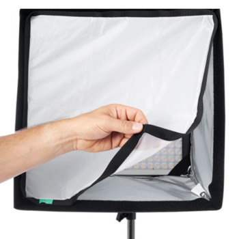 Rent Litepanels Astra 6x 2-light kit with 2 snapbag softboxes