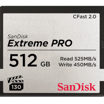Rent Sandisk 512GB CFast card (Arri)