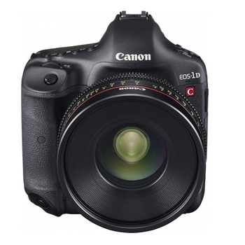 Rent Canon 1D C with Wooden Camera Cage and Lillput 4K Monitor