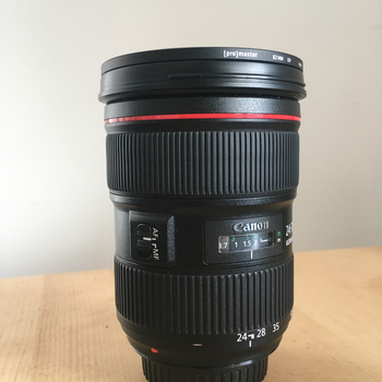 Rent Canon 24-70mm f/2.8 L II in mint condition.