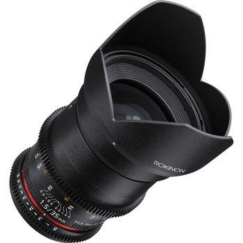 Rent Rokinon 35mm T1.5 Cine DS Lens for Micro Four Thirds