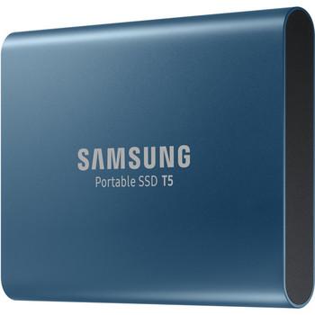 Rent Samsung 500GB T5 Portable SSD Drive w/Case